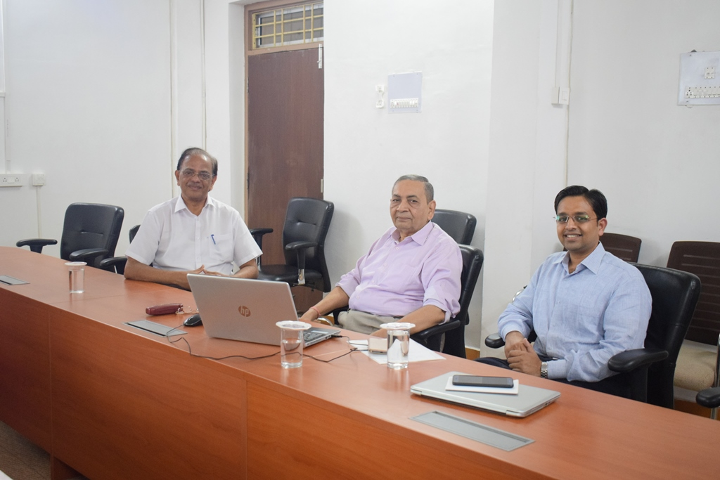 Discussion On Academic ERP Requirements At IISER Berhampur